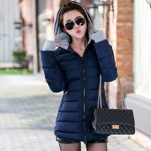 2019 High Quality Warm Thicken Women Winter Coat
