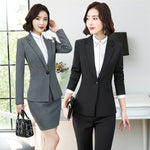 Women's Professional Wear Office Lady Suits  (S-4XL)