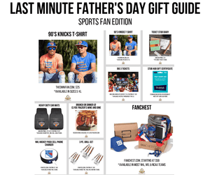 Last Minute Father's Day Gift Guide (Under $100) - For the Sports Fan Dad In Your Life!