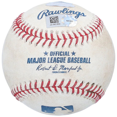 Yankees vs Red Sox Game used ball