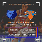 Grizzlies vs. Knicks: Group Therapy 101 - OmniFan