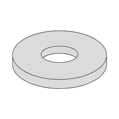 1/4 x 1 Fender Washer Hot Dip Galvanized-Bolt Demon