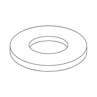 #4 x 1/4 x .062 Flat Washer Nylon-Bolt Demon