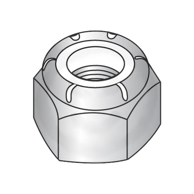 M20-2.50 DIN 985 Metric Nylon Insert Hex Locknut 18-8 Stainless Steel-Bolt Demon