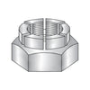 6-32 Flex Type Hex Lock Nut Thin Height Light 18-8 Stainless Steel-Bolt Demon