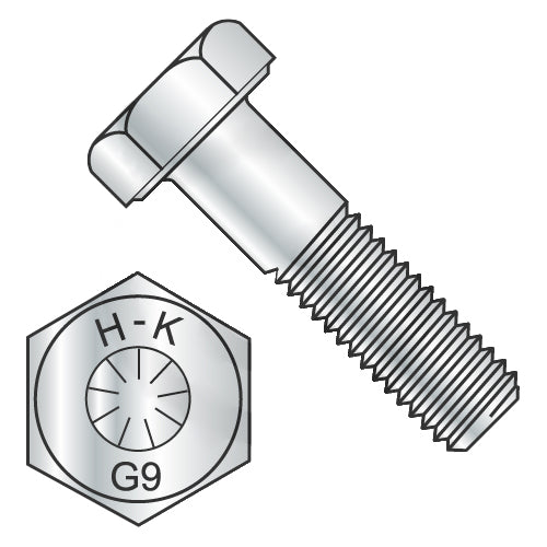 1/4-28 x 2 1/2 Hex Cap Screw Grade 9 DFAR EcoGuard USA-Bolt Demon