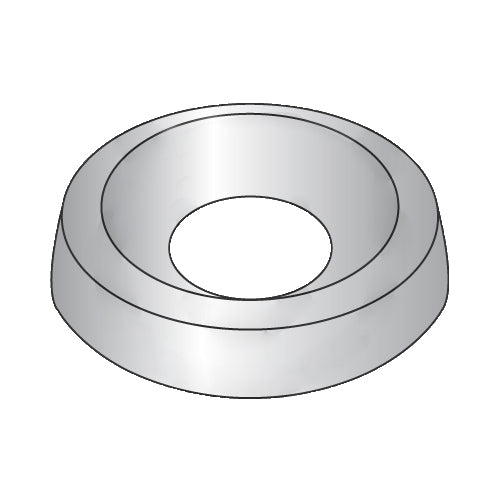 1/4 Countersunk Finishing Washer 18-8 Stainless Steel-Bolt Demon