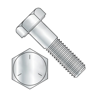 1 1/8-7 x 10 Hex Cap Screw Grade 5 Zinc-Bolt Demon