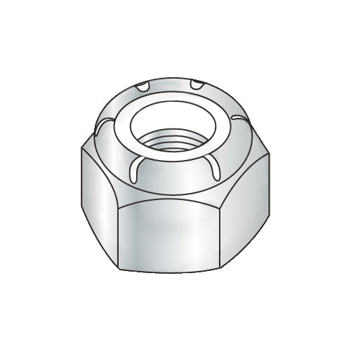 M16-2.00 DIN 985 Metric Class 8 Nylon Insert Hex Locknut Zinc-Bolt Demon