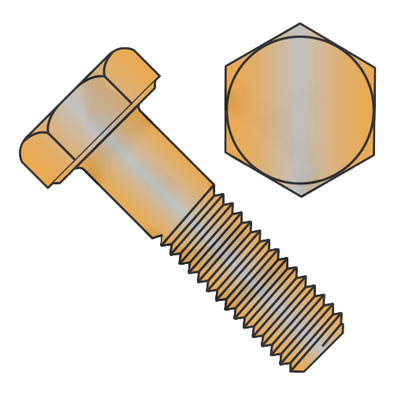 3/8-16 x 1 3/4 Hex Cap Screw Silicone Bronze-Bolt Demon