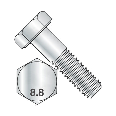 M8 x 65 DIN 931 8.8 Partially Threaded Hex Cap Screw Zinc-Bolt Demon