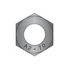 M3-0.5 DIN 934 Metric Hex Nuts 18-8 Stainless Steel Black Oxide-Bolt Demon