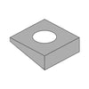 "1"" Square Beveled Washer F436 A325 A490 Plain-Bolt Demon"
