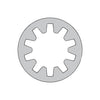 #2 MS35333, Military Internal Tooth Lock Washer 410 Stainless Steel DFAR-Bolt Demon