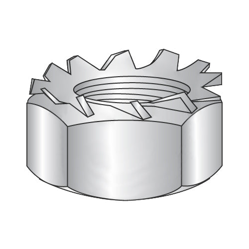 5/16-18 K Lock Nut 18-8 Stainless Steel Nut, 420 Stainless Steel Washer-Bolt Demon