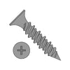 6-18 x 1 Phillips Bugle Head Hi Low Drywall Screw Black Phosphate-Bolt Demon