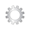#4 MS35335, Military External Tooth Lock Washer 410 Stainless Steel DFAR-Bolt Demon