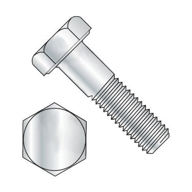 1/4-28 x 3/4 Hex Cap Screw Grade 2 Zinc-Bolt Demon
