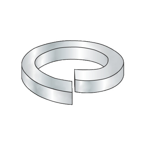 9/16 Regular (medium) Split Lock Washer Zinc and Bake-Bolt Demon
