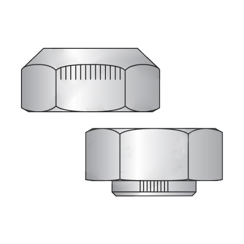 3/8-24 Stover Alternative Automation Style Lock Nut Grade C Cad And Wax-Bolt Demon