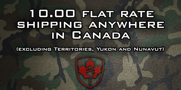 $10.00 Flat rate shipping Canada wide.