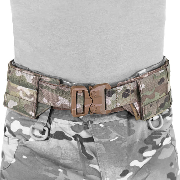 Warrior Plastic Cobra Webbing Belt - Multicam