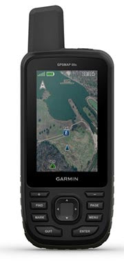 Garmin GPSMAP 66s - Multisatellite Handheld with Sensors
