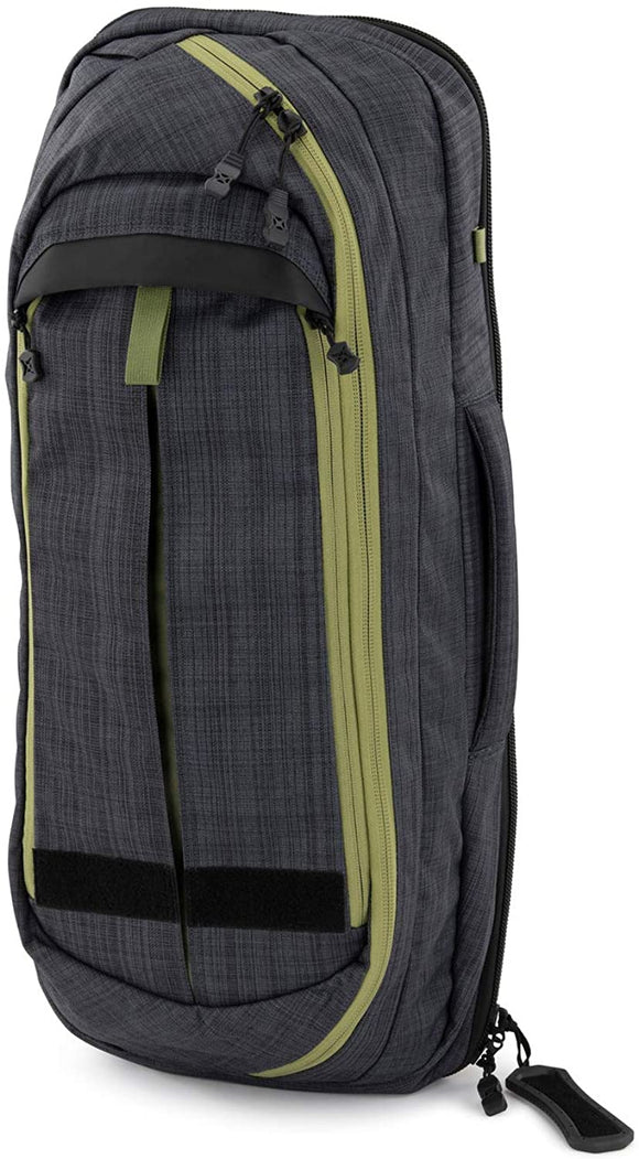 Vertx Commuter Sling XL 2.0 EDC CCW Sling Bag - Heather Black/Mustard Grass