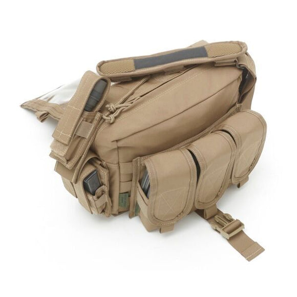 Warrior Assault Systems Grab Bag with 5.56 Molle Pouches/6 Mags