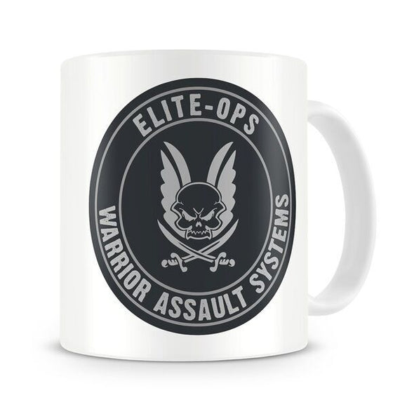Warrior Mug- Round Shield