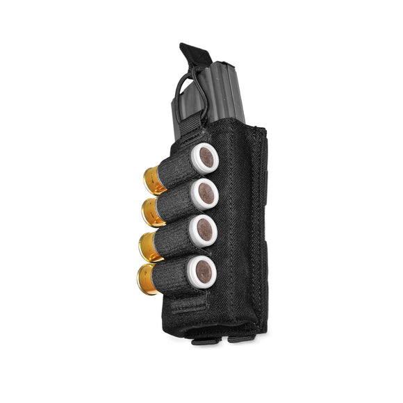 Warrior Assault Systems - Single open 5.56mm Mag Pouch with Shotgun Strip