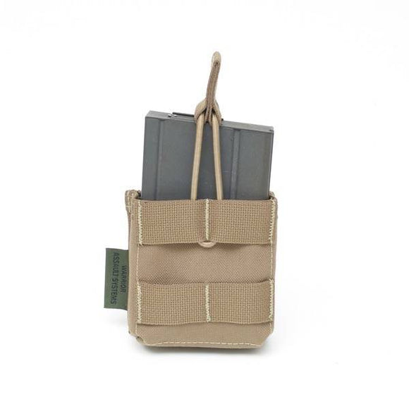 Warrior Assault Systems- Single Molle 7.62 X 51MM Open Short – COYOTE TAN - Coyote Tan