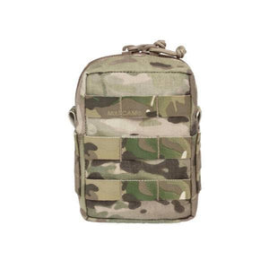 Small Molle Utility Pouch Zipped -  Multiple Colours