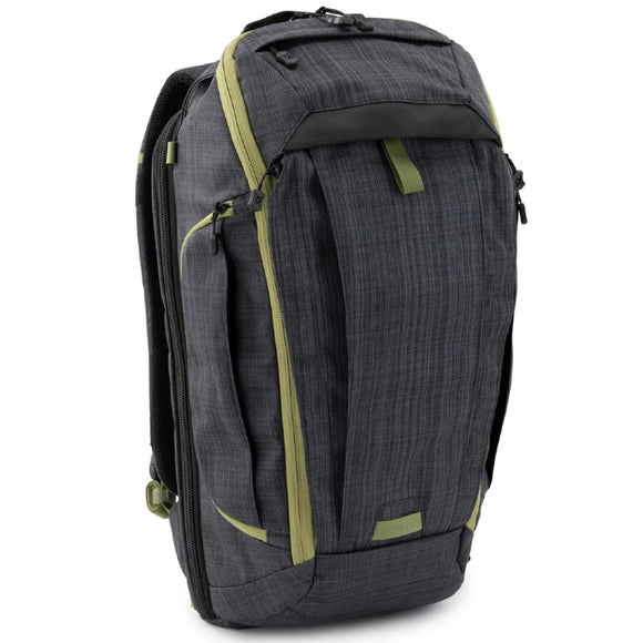 Vertx Gamut Checkpoint Backpack Heather Black/Mustard Grass