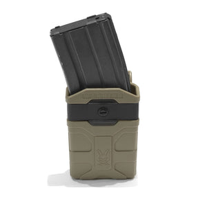 Warrior Assault Systems Polymer M4 5.5mm Mag pouch(Dark Earth)