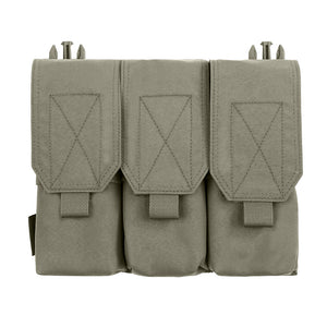 Warrior Assault Systems Detachable Triple Covered M4 Pouch - Ranger Green