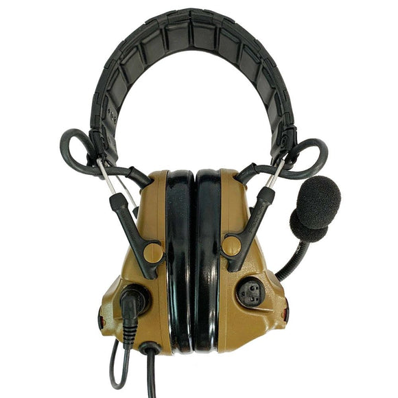 3M Peltor ComTac V ACH Tactical Communication Headset - Headband