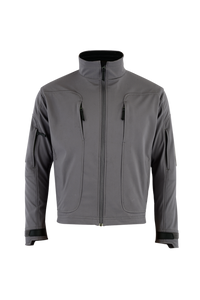 Shadow Elite Echo Soft Shell Jacket-Wolf Grey
