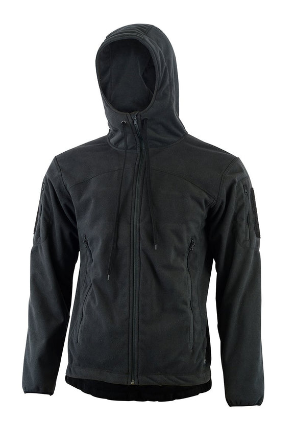Shadow Elite - SHE-3262 BRAVO FLEECE HOODY-BLACK