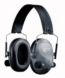 TACTICAL 6-S SLIM LINE ELECTRONIC HEADSET, GRAY
