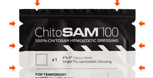 Sam ChitoSAM 4x4 Clotting Agent