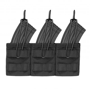 Triple MOLLE Open AK 7.62mm -Black