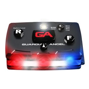Guardian Angel Law Enforcement Red/Blue Wearable Safety Light
