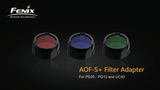 Fenix- Filter Adapter (Red,Blue,Green)