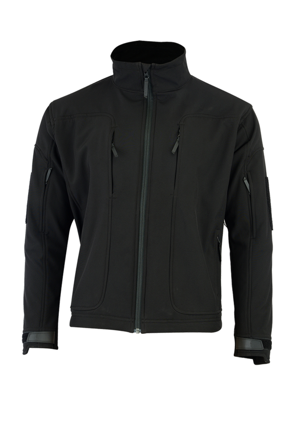 Shadow Elite Echo Soft Shell Jacket-Black