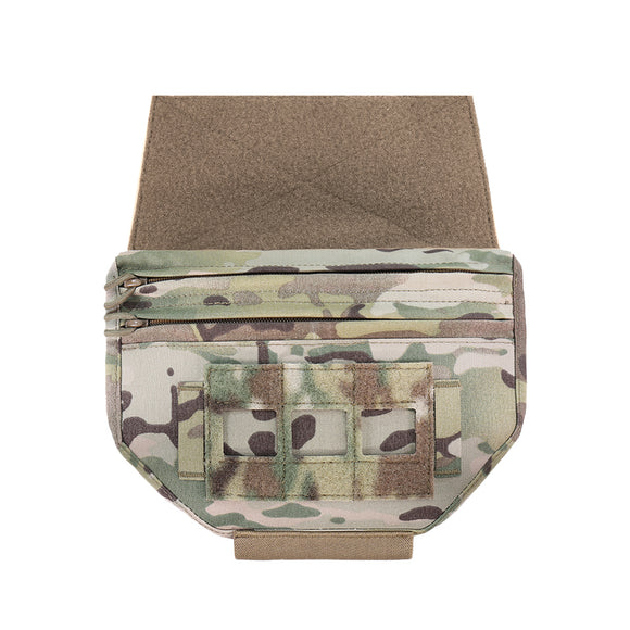 Warrior Assault Systems Laser Cut Drop Down Velcro Pouch