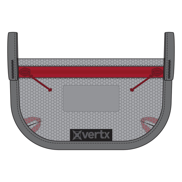 VERTX OVERFLOW MESH POUCH (2-PACK), Ash Grey, Multiple Sizes