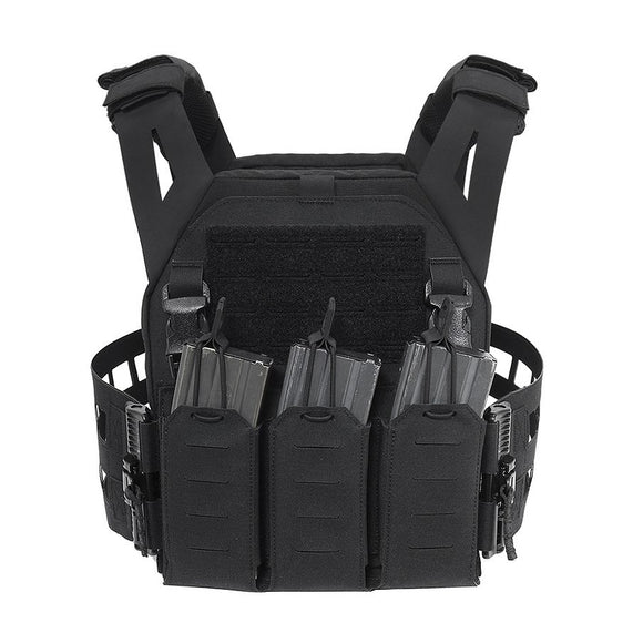 Warrior Assault Systems  Laser Cut Low Profile Carrier V2 With Triple Bungee 5.56
