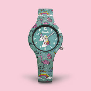 Inspire kids watch unicorn doodle DO32005