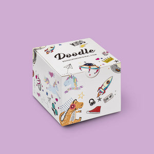 Gift box kids watches by Doodle the Original Flamingo doodle kids watch DO32008